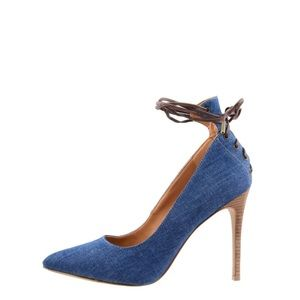 BRAND NEW - NEVER USED - Nine West NWebba Blue